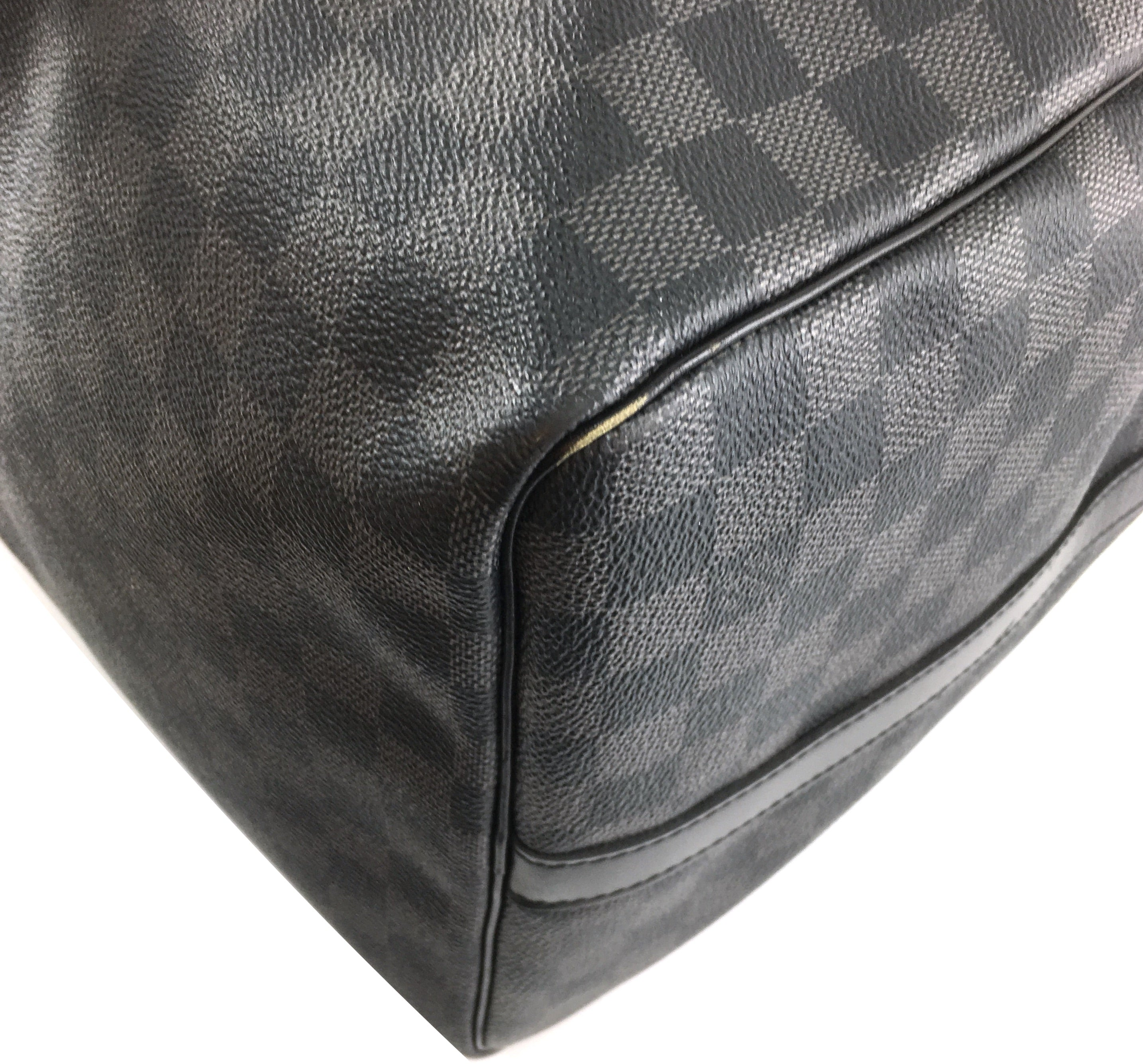 Louis Vuitton Keepall Bandouliere 55 Damier Graphite Canvas