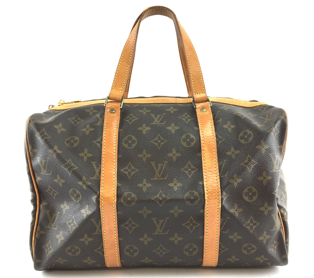 Louis Vuitton Sac Souple 35 Monogram Canvas