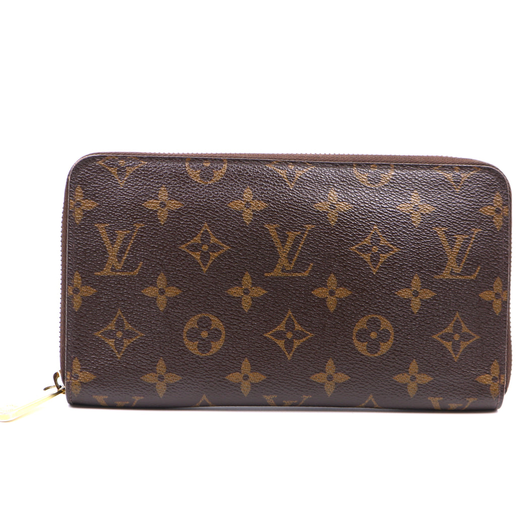 Louis Vuitton Monogram Zippy Large Organizer Long Wallet