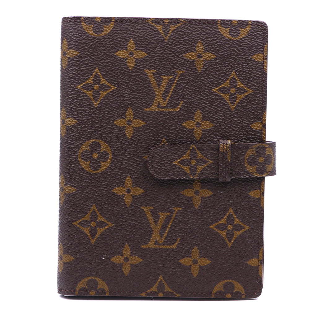 Louis Vuitton Monogram Large Agenda Bifold Holders Wallet