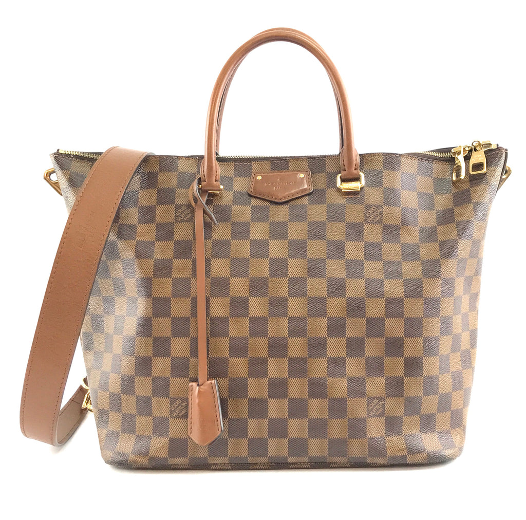 Louis Vuitton Belmont Damier Ebene Canvas