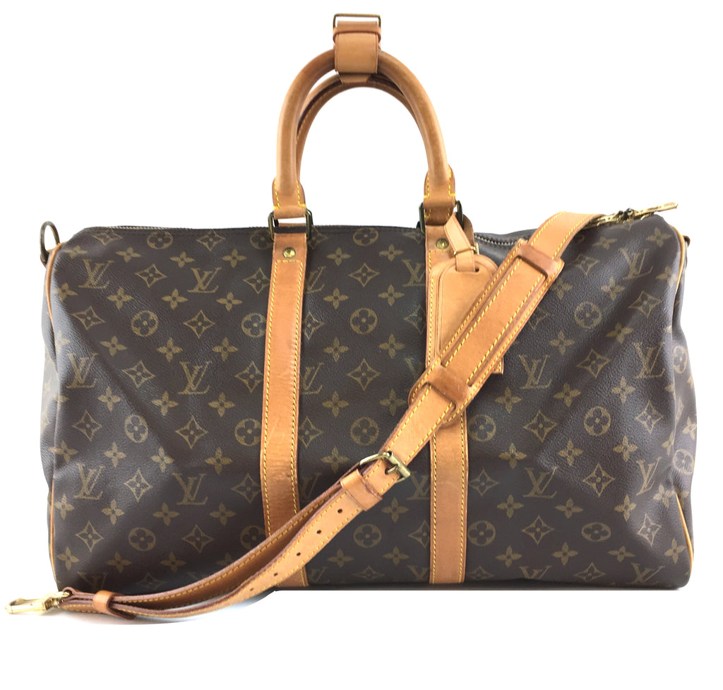 Louis Vuitton Keepall 45 Bandouliere Monogram Canvas