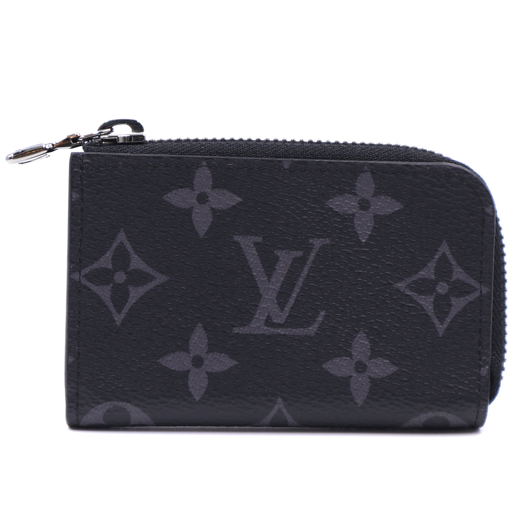 Louis Vuitton Monogram Eclipse Porte Monet Jules Wallet