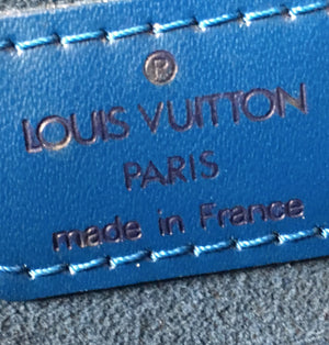 Louis Vuitton Saint-Jacques GM Blue Epi Leather