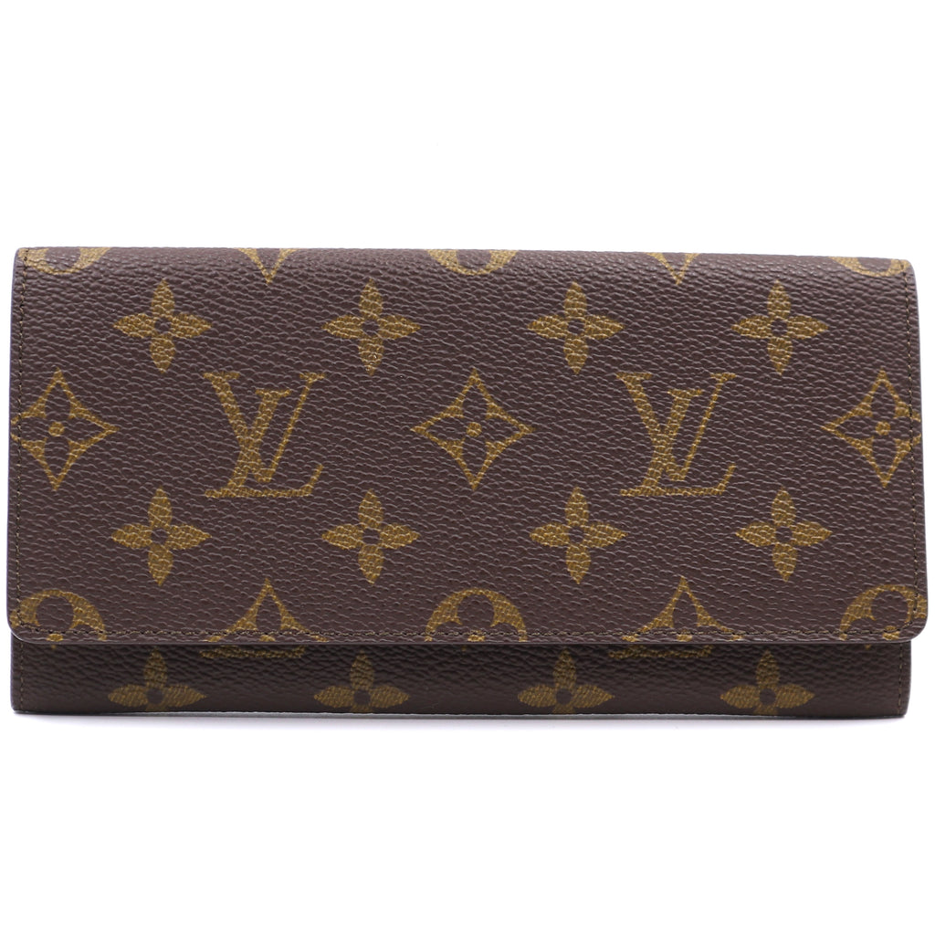 Louis Vuitton Monogram Flap Long Wallet