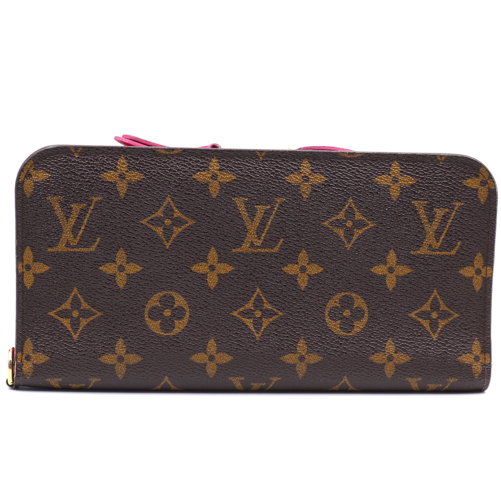 Louis Vuitton Monogram Grenade Zipper Long Wallet