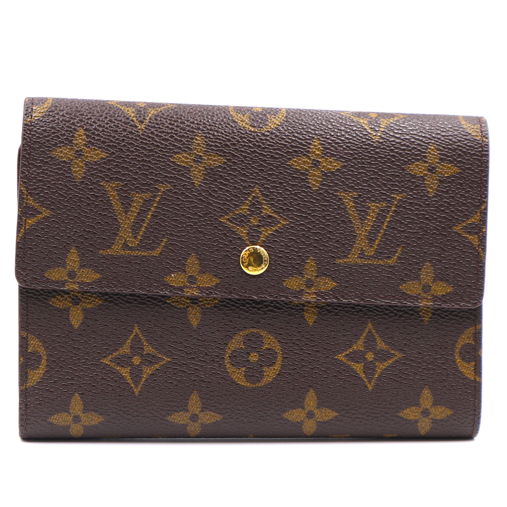 Louis Vuitton Monogram Organizer Wide Trifold Wallet