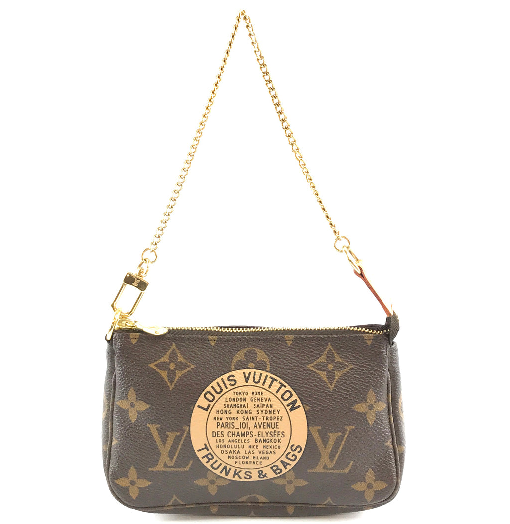 Louis Vuitton Chain Pochette Monogram Canvas