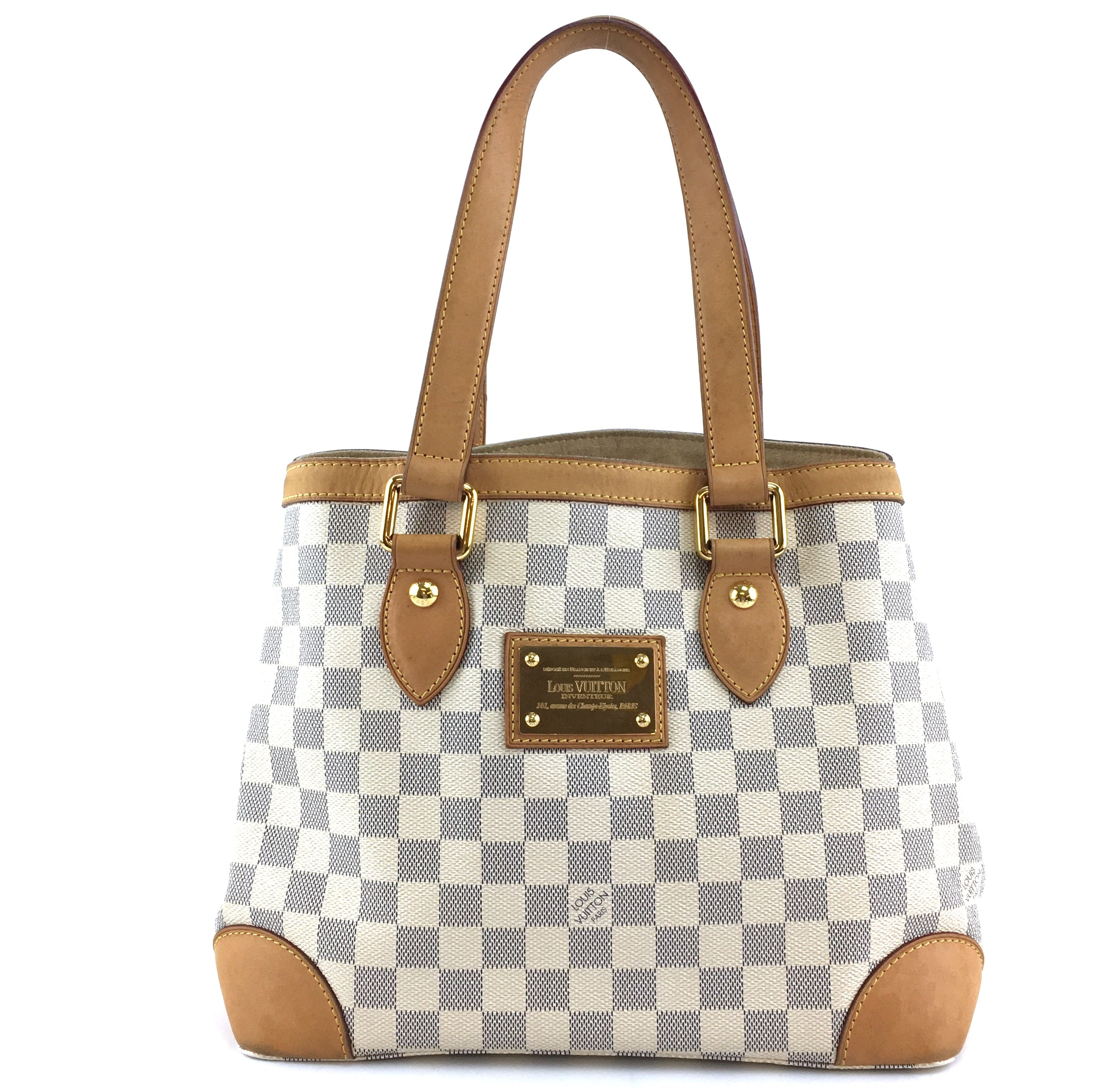 Louis Vuitton Hampstead PM Damier Azur Canvas