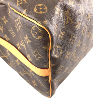 Louis Vuitton Speedy 35 Bandouliere Monogram Canvas