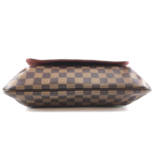 Louis Vuitton Musette Salsa Gm Damier Ébène Canvas