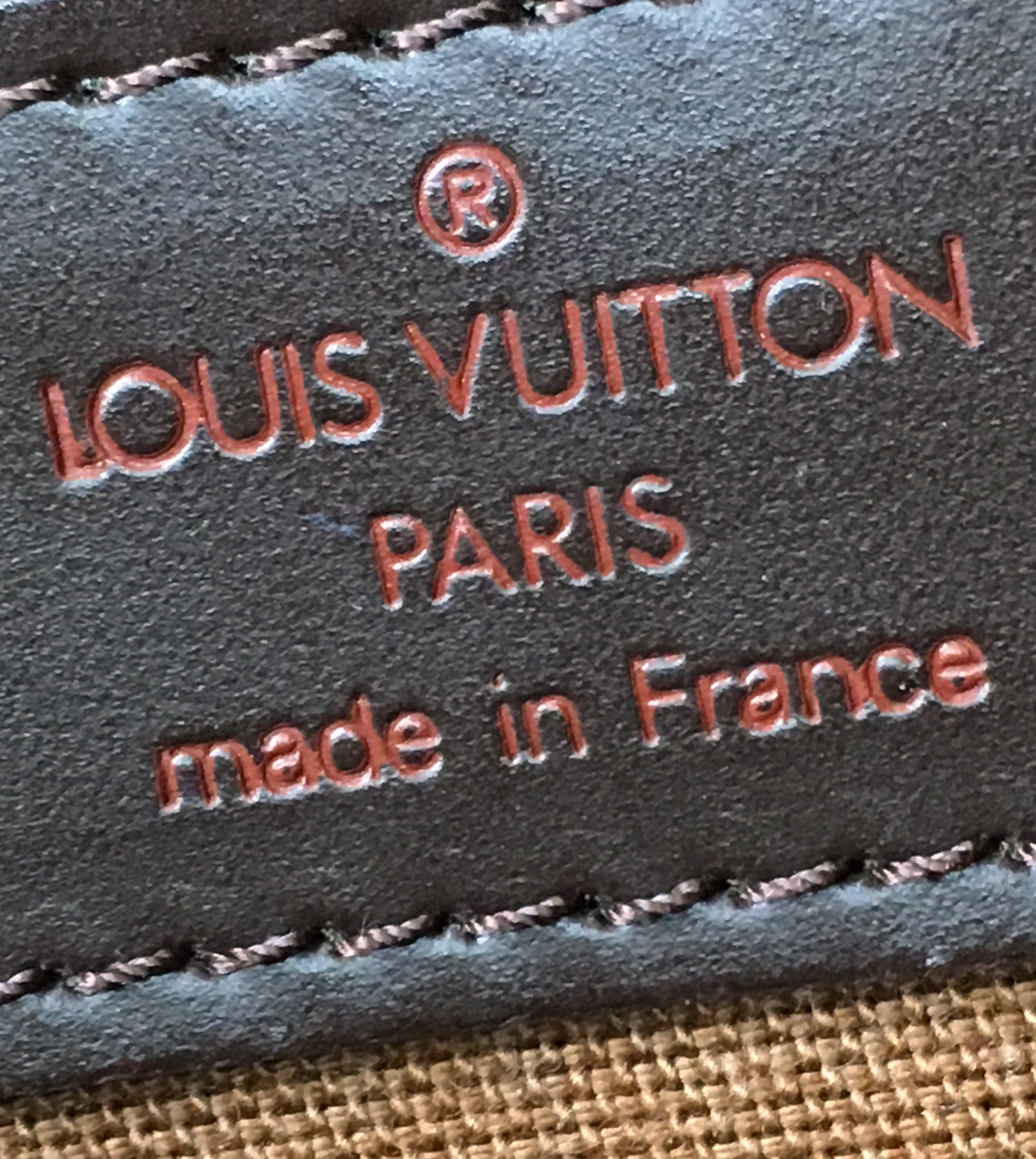 Louis Vuitton Chelsea Damier Ébène Canvas