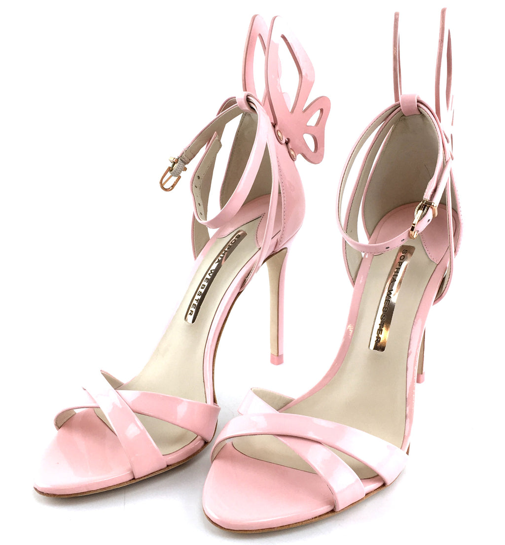 Sophia Webster Patent Leather Madame Chiara Butterfly Pumps