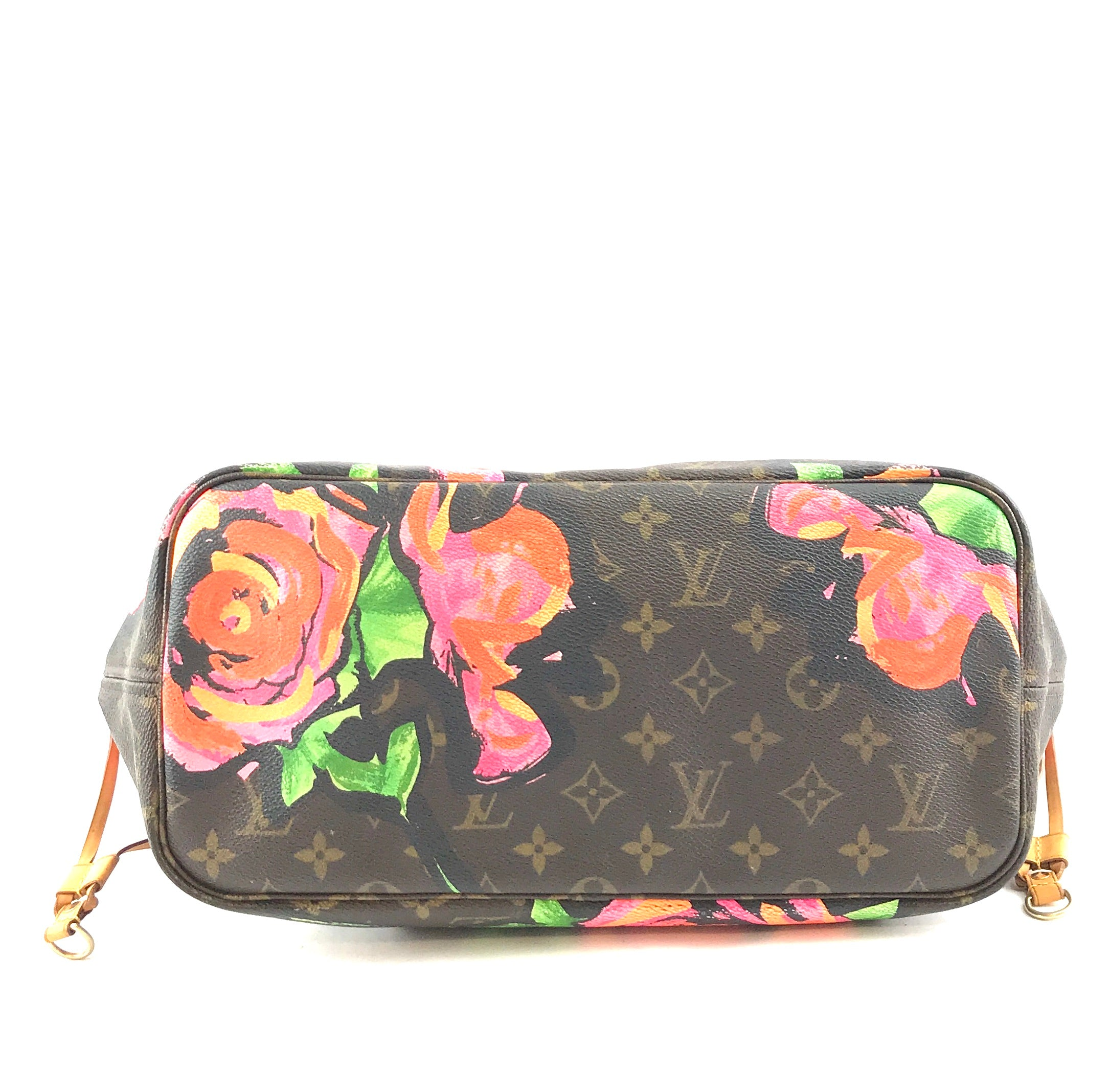 Louis Vuitton Neverfull MM Rose Multicolor Monogram Canvas