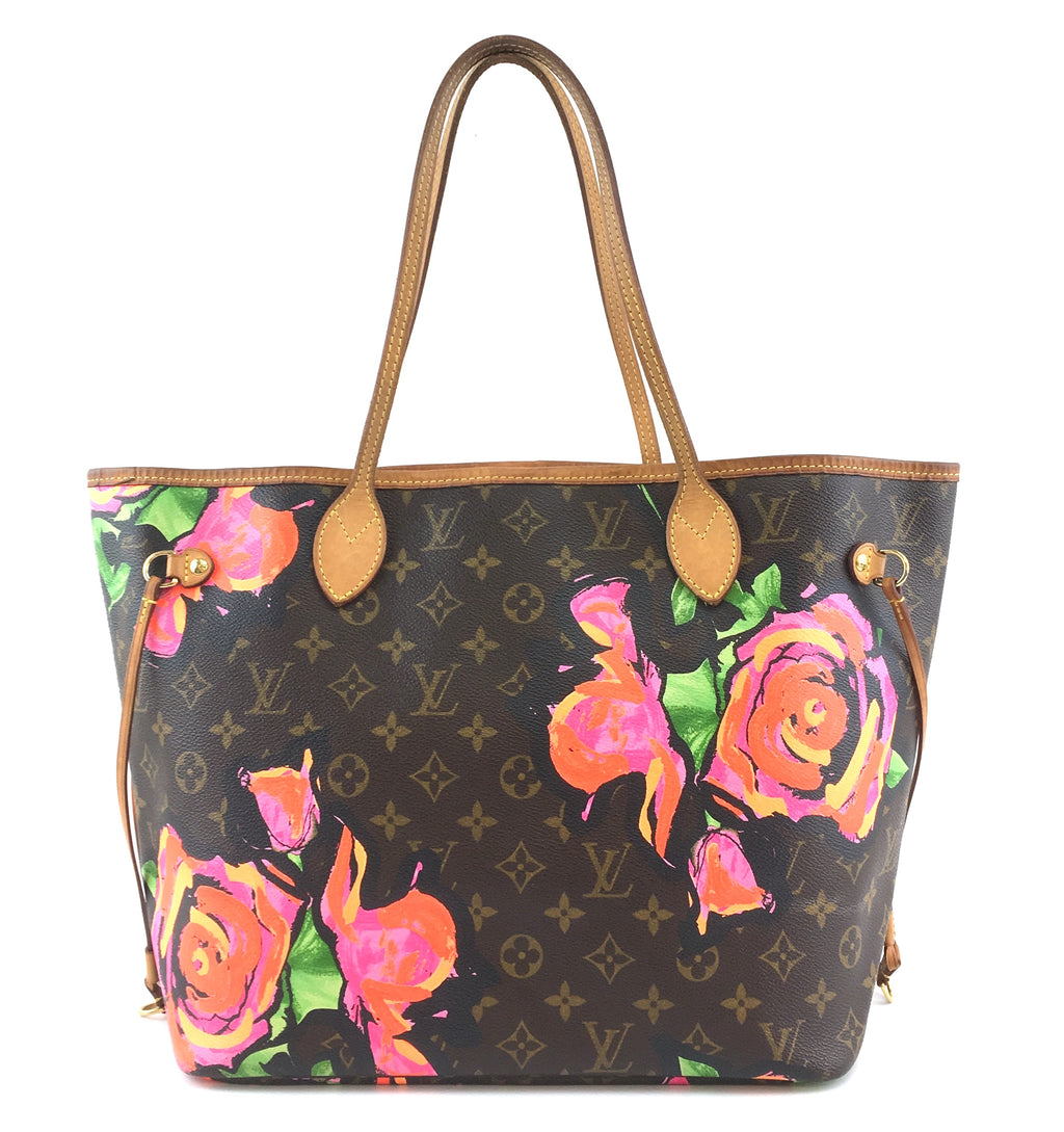 Louis Vuitton Neverfull MM Rose Monogram Canvas