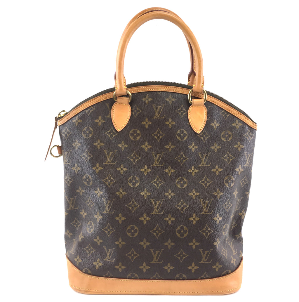 Louis Vuitton Lockit Vertical MM Monogram Canvas
