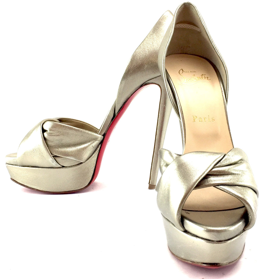 Christian Louboutin Metallic Pumps EU 38.5 (Approx. US 8.5)