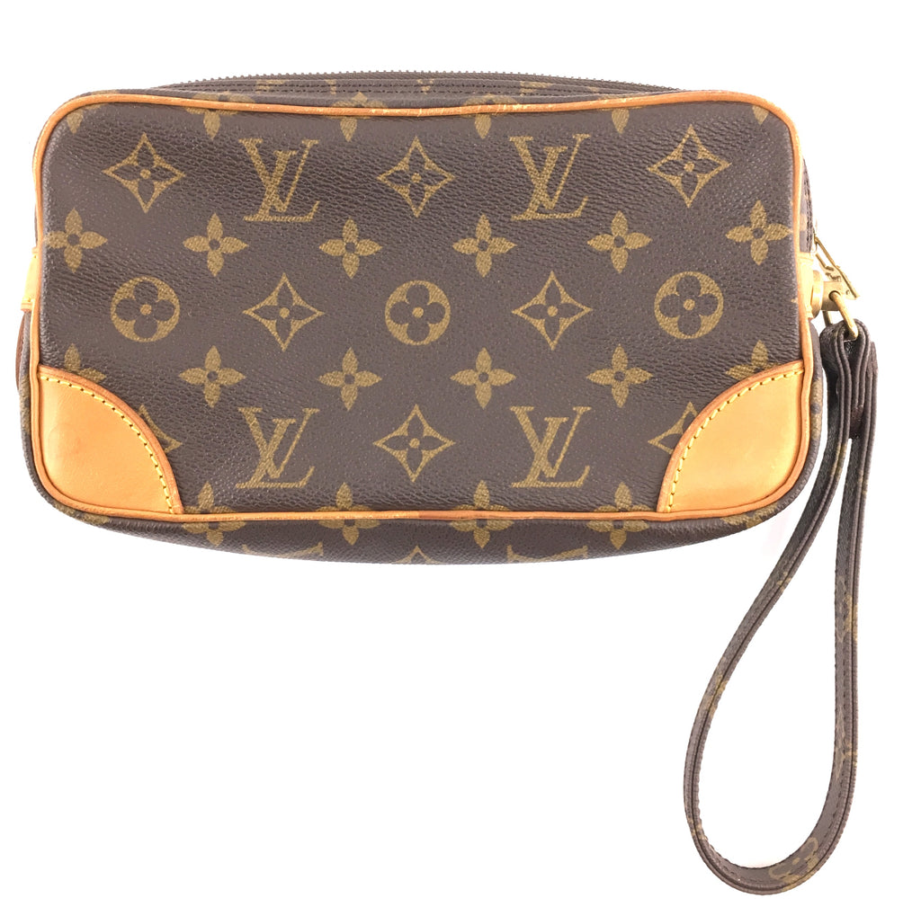 Louis Vuitton Marly Clutch Monogram Canvas