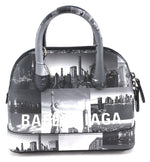 Balenciaga Skyline Ville XXS Black White Grey Calfskin Leather