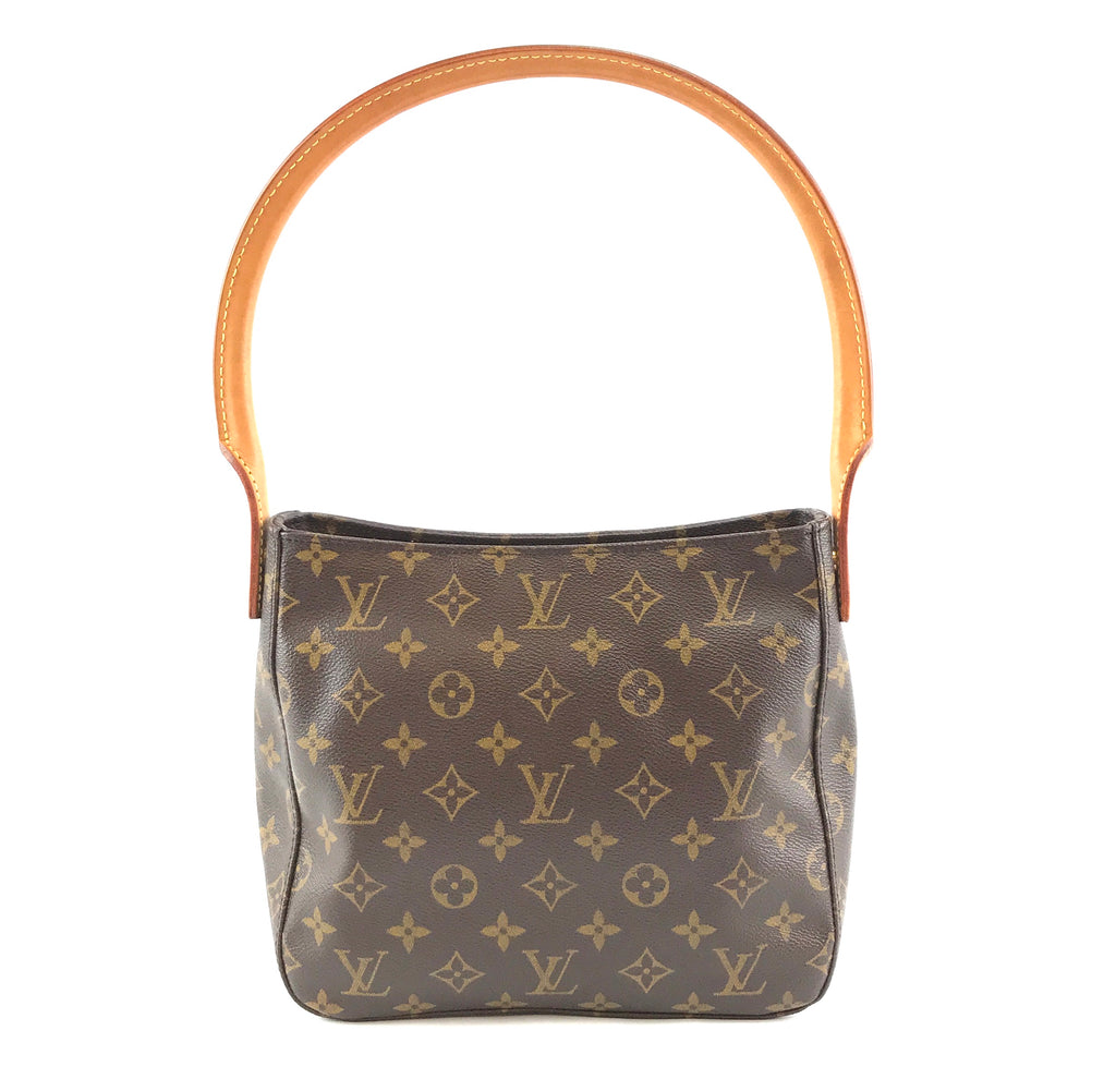 Louis Vuitton Looping Bucket MM Monogram Canvas