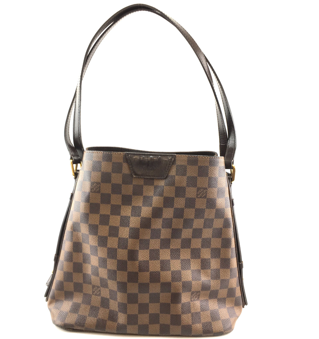Louis Vuitton Cabas Rivington Damier Ébène Canvas