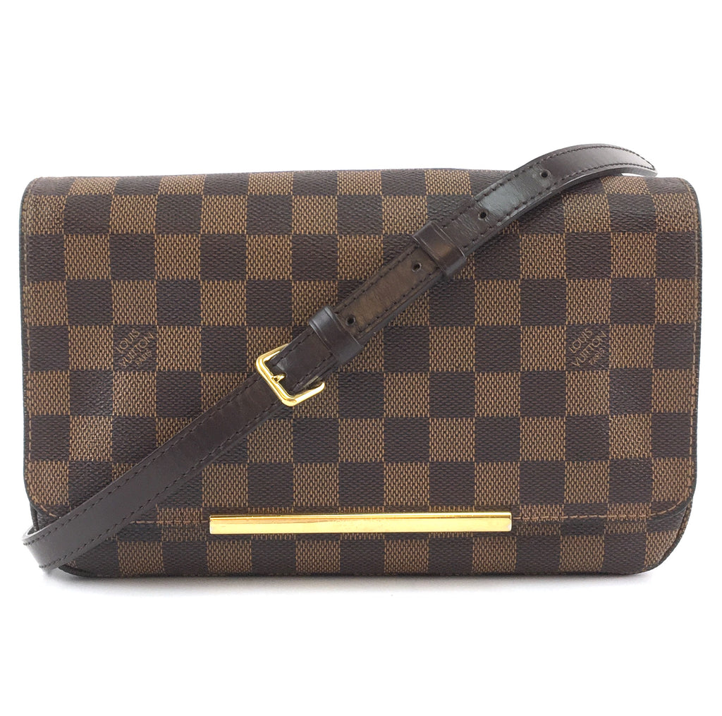 Louis Vuitton Hoxton PM Damier Ébène Canvas