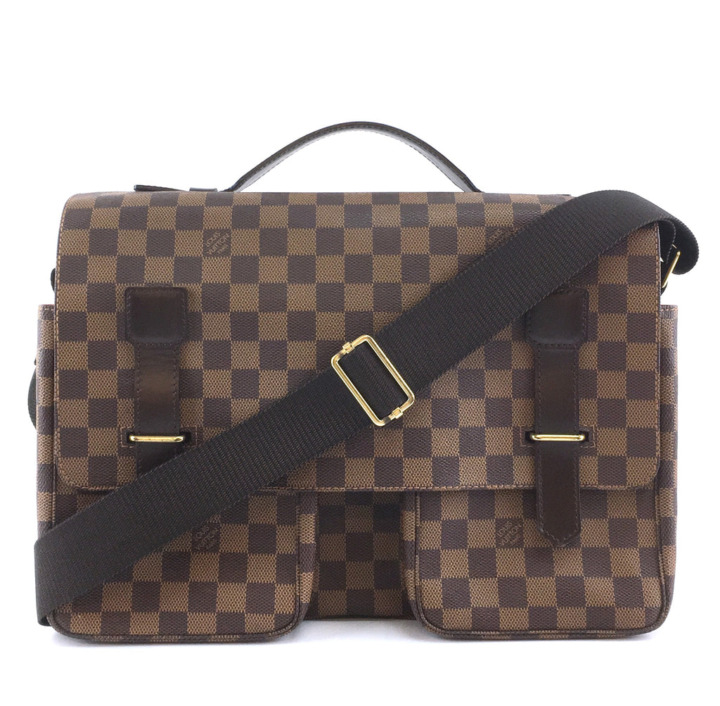 Louis Vuitton Broadway Damier Ébène Canvas