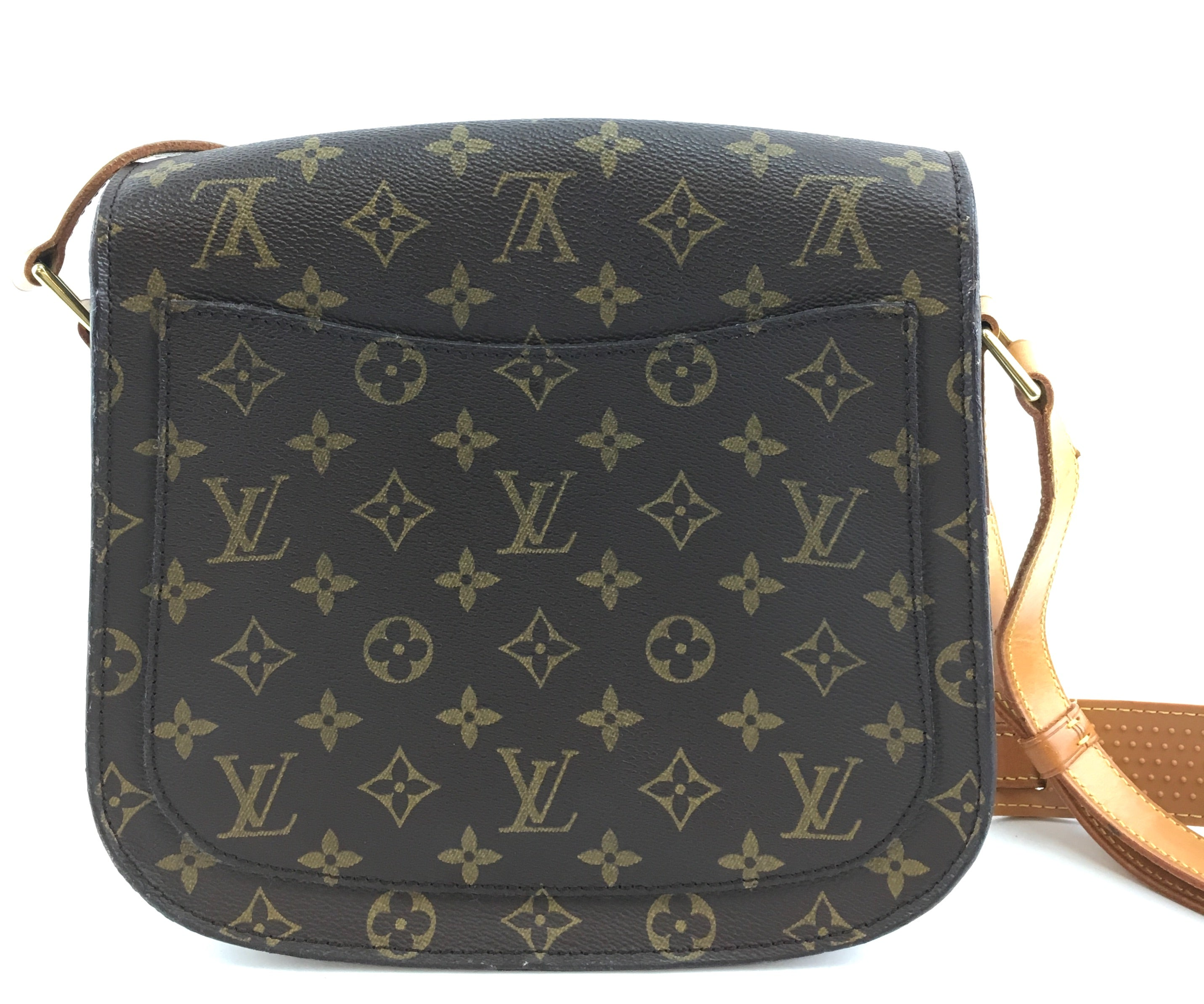Louis Vuitton Saint Cloud GM Monogram Canvas