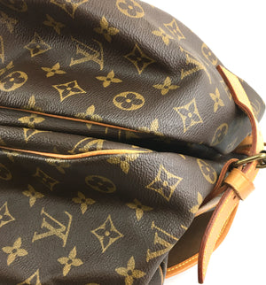 Louis Vuitton Saumur 43 Monogram Canvas