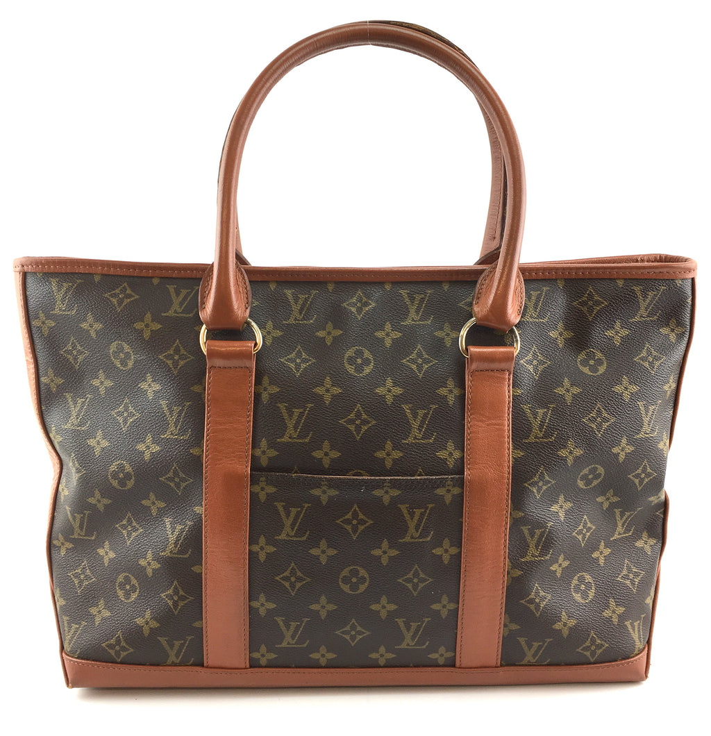 Louis Vuitton Sac Weekend Monogram Canvas