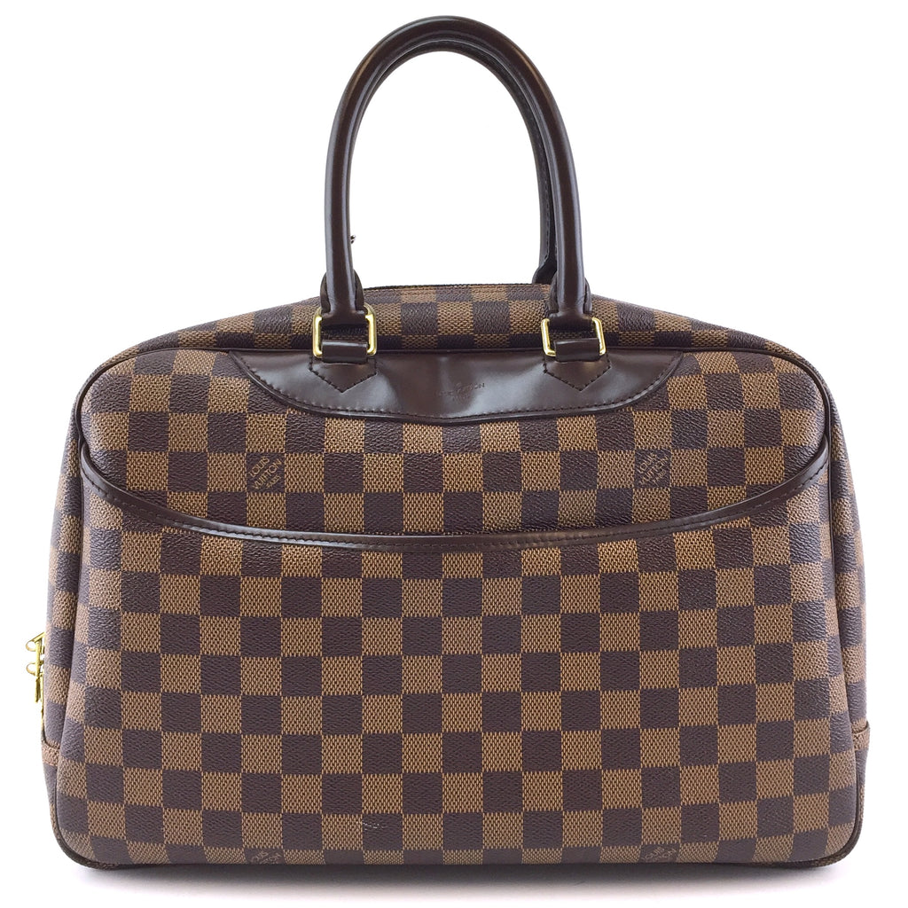 Louis Vuitton Deauville Damier Ébène Canvas