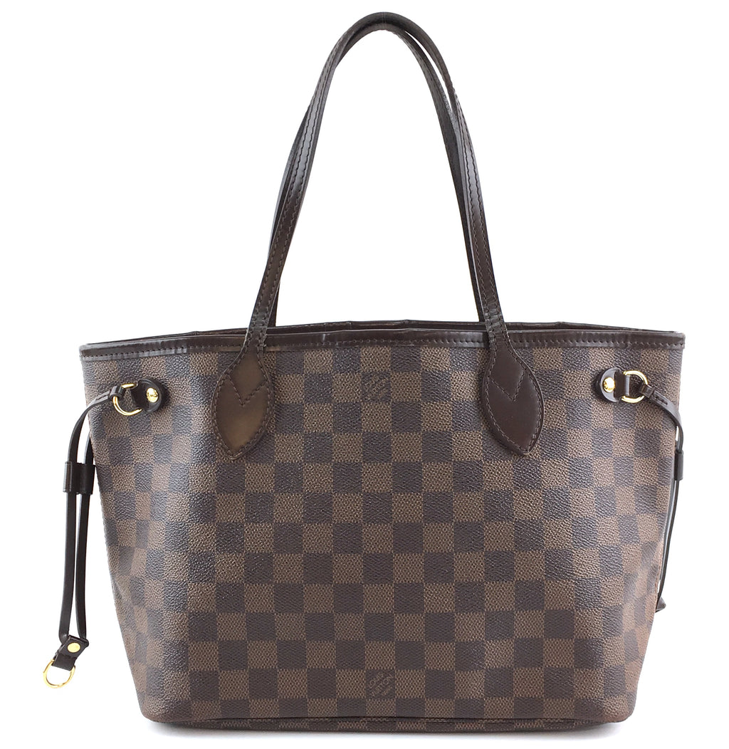 Louis Vuitton Neo Neverfull Pm Damier Ébène Canvas