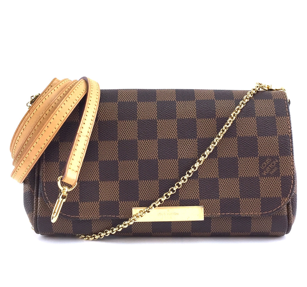 Louis Vuitton Favorite PM Damier Ébène Canvas