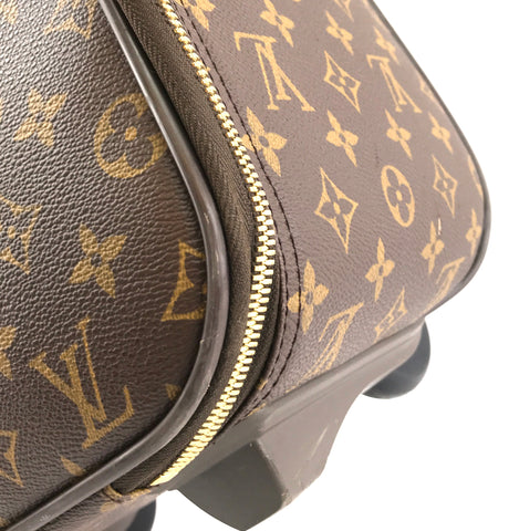 Louis Vuitton #11057 Limited Edition Trunk Monogram Pochette Cosmetic Evening Clutch