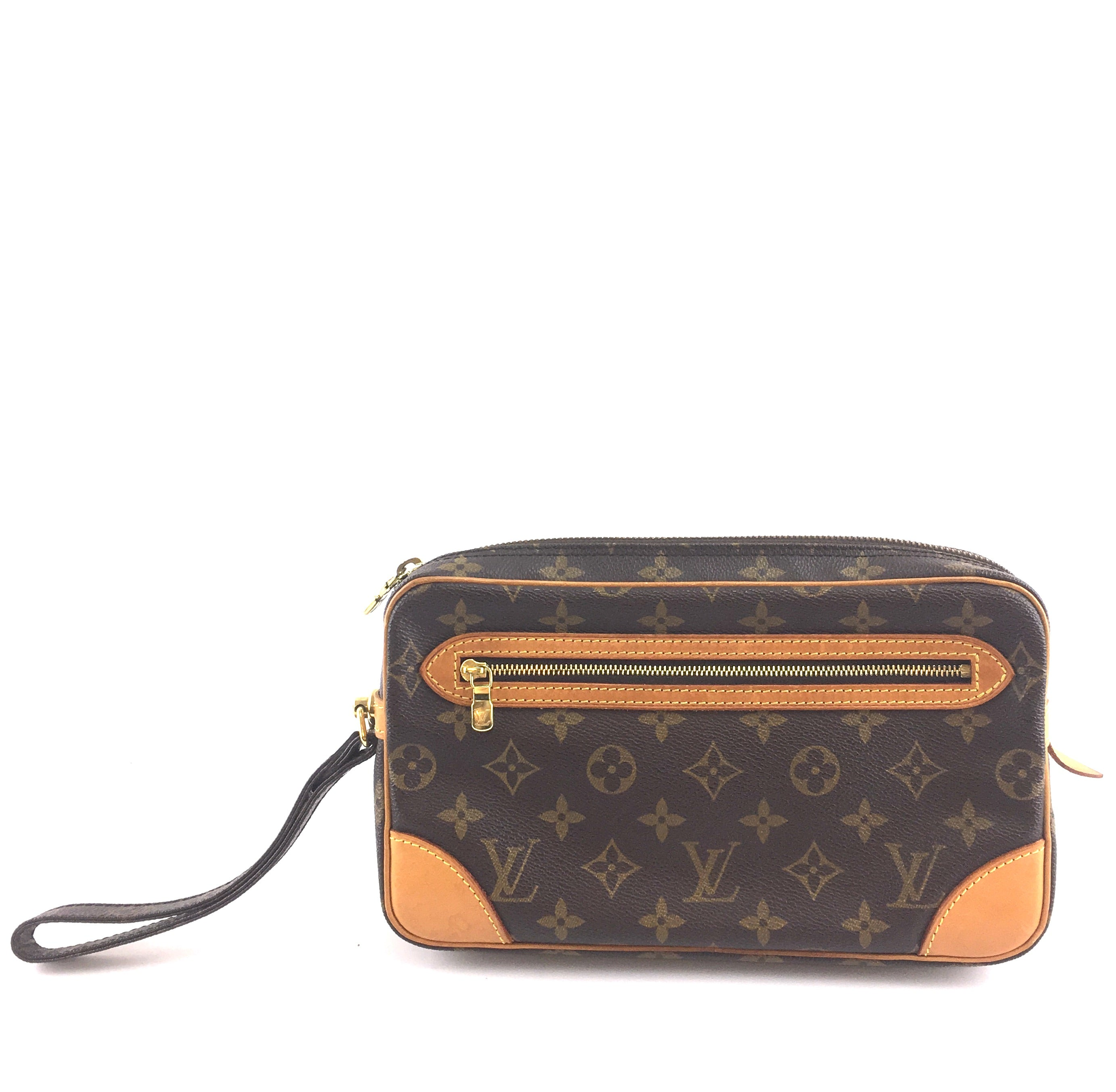 Louis Vuitton Pochette Dragonne Monogram Canvas