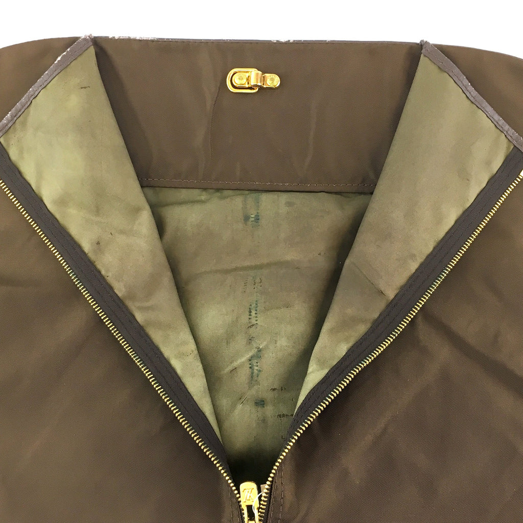 Louis Vuitton Garment Cover No Hanger Brown Fabric Canvas