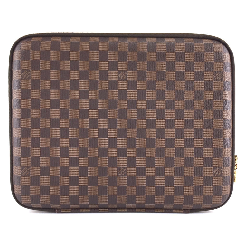 Louis Vuitton Laptop Sleeve Damier Ébène Canvas
