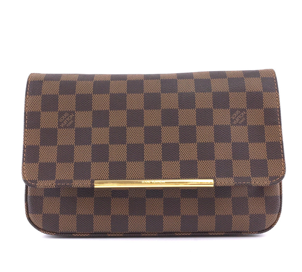 Louis Vuitton Hoxton PM W/O Strap Damier Ébène Canvas
