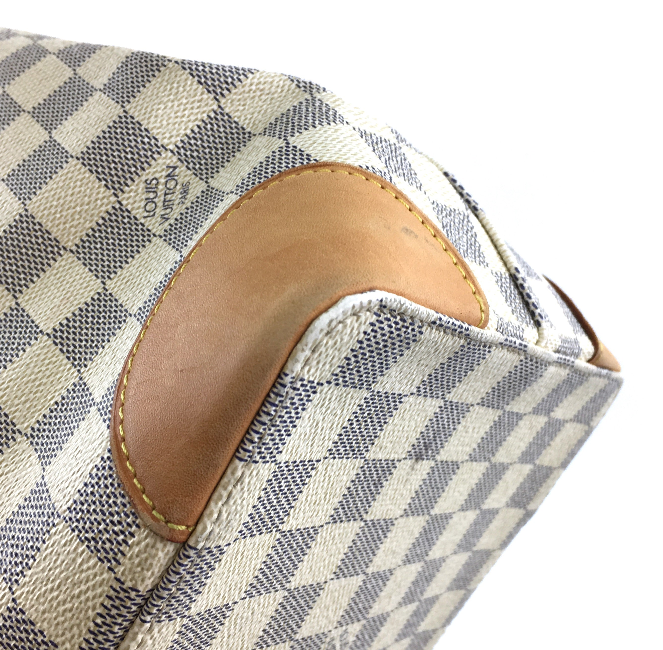 Louis Vuitton Hampstead MM Damier Azur Canvas