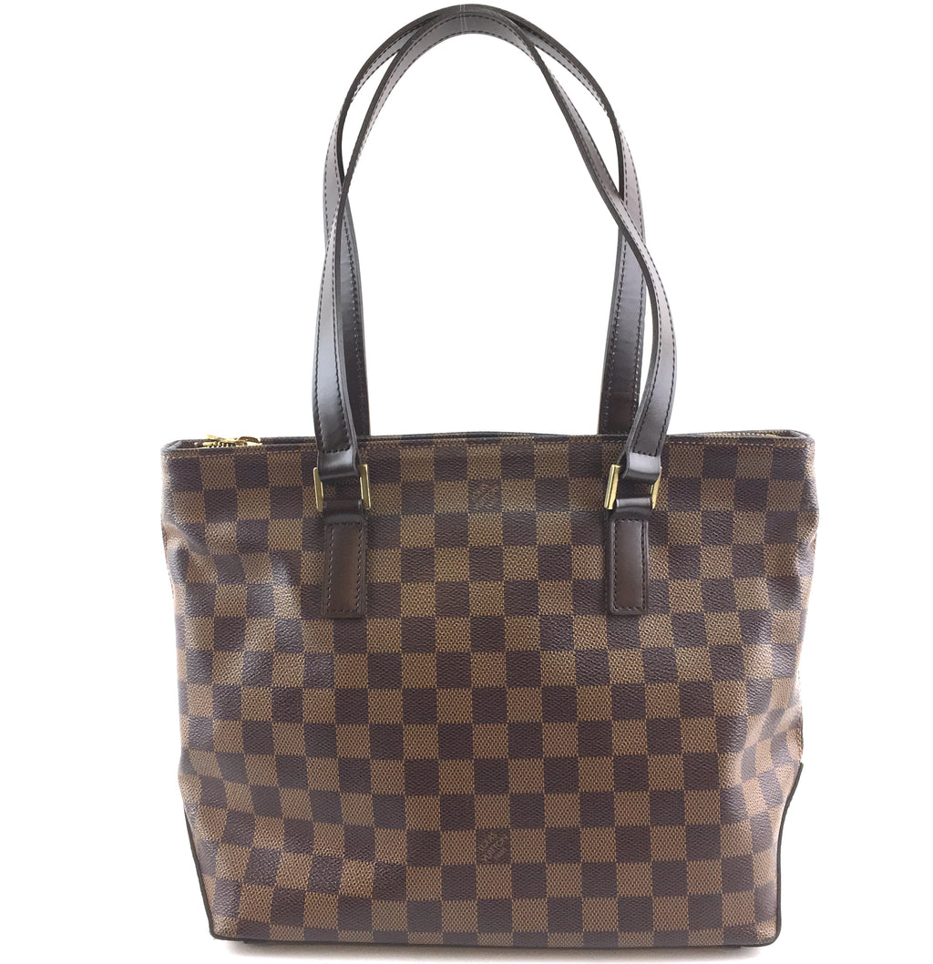 Louis Vuitton Cabas Piano Damier Ébène Canvas