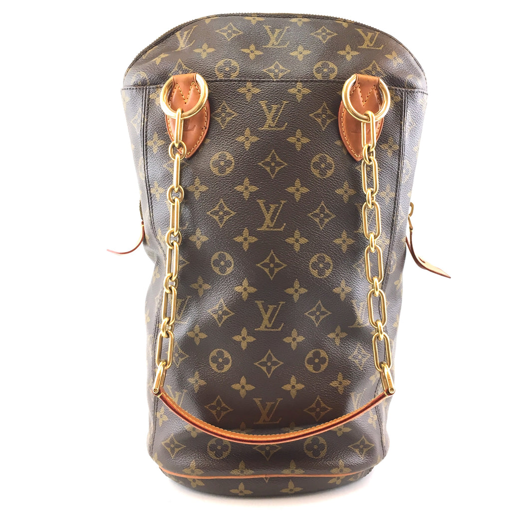 Louis Vuitton Collaboration Punching Tote Monogram Canvas