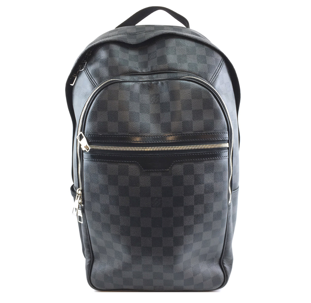 Louis Vuitton Michael Backpack Damier Graphite Canvas