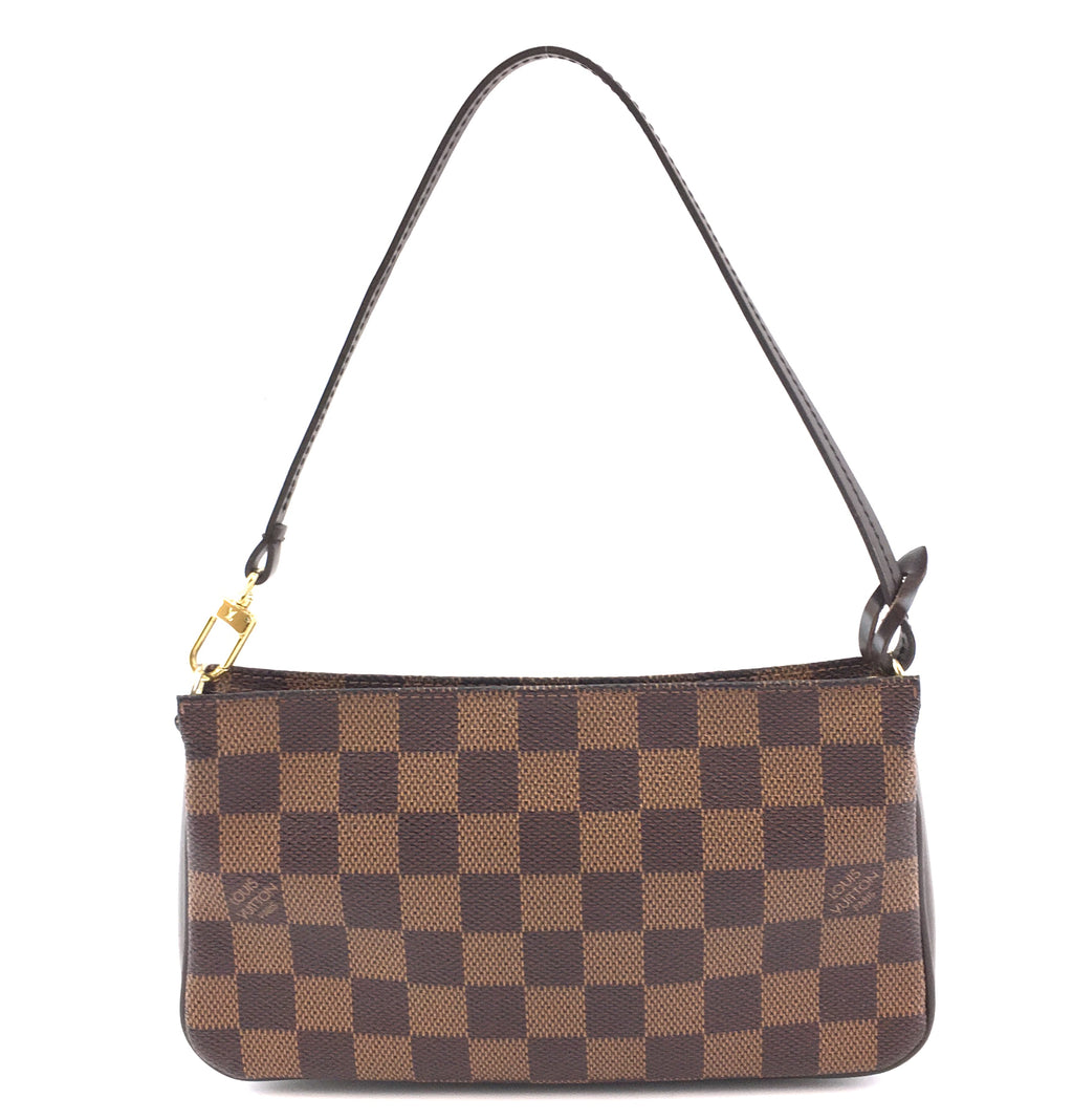Louis Vuitton Pochette Accessory Damier Ébène Canvas