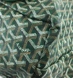 Goyard Saint Louis with Pochette PM Green Canvas and Leather