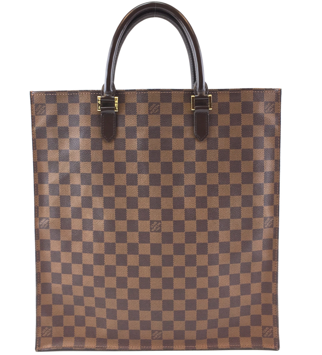Louis Vuitton Sac Plat Damier Ébène Canvas