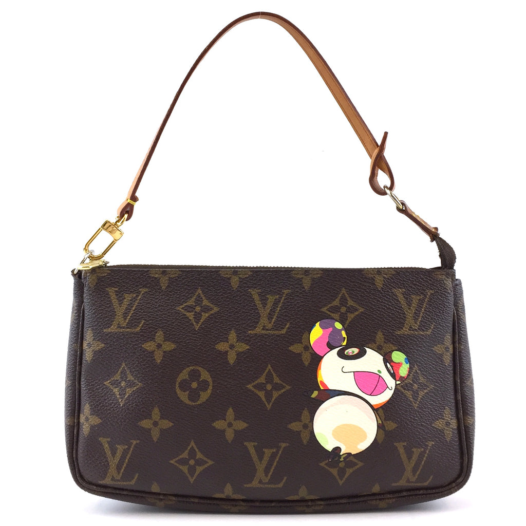 Louis Vuitton Pochette Accessory Panda Monogram Canvas