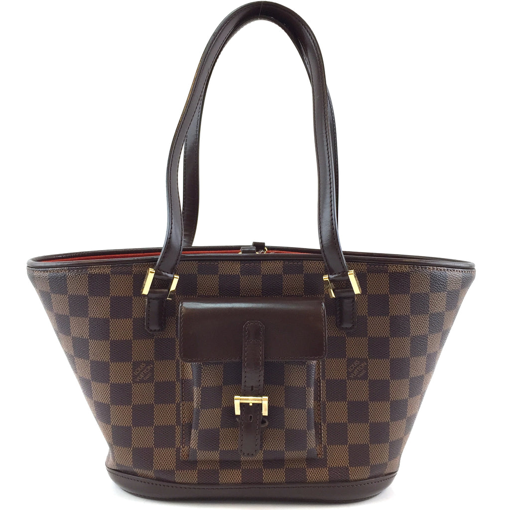 Louis Vuitton Manosque PM Damier Ébène Canvas