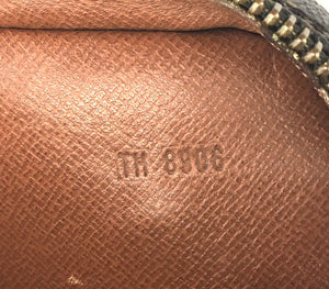 Louis Vuitton Monogram Dragonne Wristlet Hand Clutch