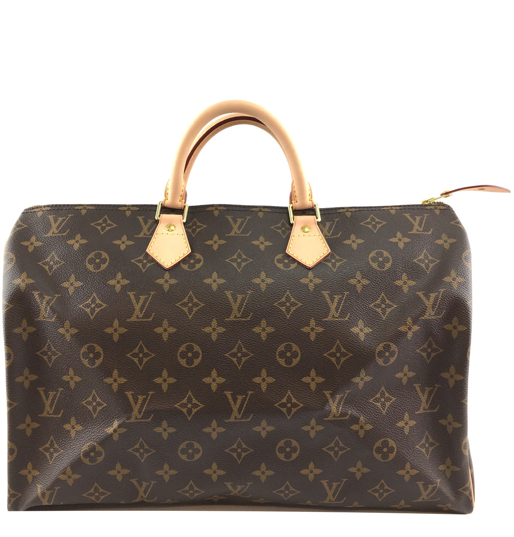 Louis Vuitton Speedy Duffle 40 Monogram Canvas