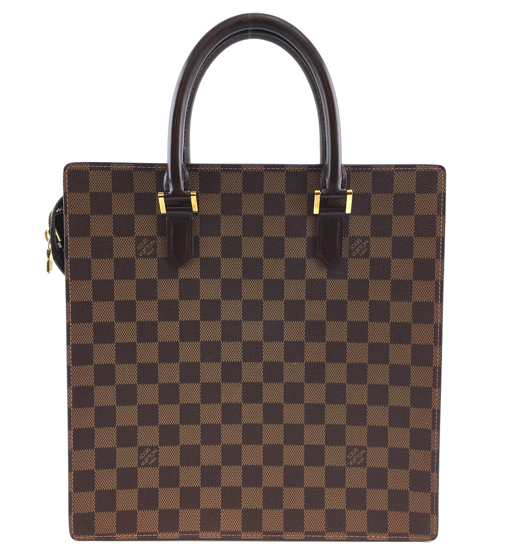 Louis Vuitton Sac Plat Venice PM Damier Ébène Canvas